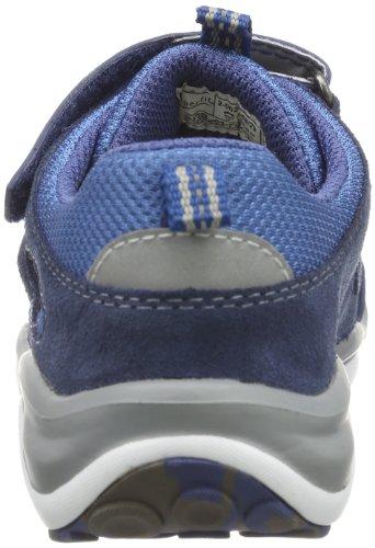 Superfit Sport5 Mini, Scarpine primi passi unisex bambino blu (Blau (indigo kombi 88))