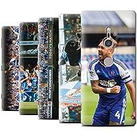 Offiziell Ipswich Town FC Hülle / Case für Sony Xperia XZ2 / Pack 8pcs Muster / ITFC Feierlichkeiten Kollektion