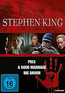 Stephen King - Puls / A Good Marriage / Big Driver [3 DVDs]