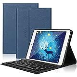 Dingrich iPad Mini Custodia con Tastiera - Universale Cover con Tastiera Bluetooth per iPad Mini, Mini 2, Mini 3, Mini 4, Mini 5a Generazione 2019