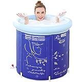WCUI Más grueso aumento doblar bañera bañera stent baño barriles inflado plástico familia adulto niño bañera Seleccionar ( Tamaño : 65*65CM )