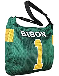 COLLECTIONNEUR ITEM: NCAA North Dakota State Bison Jersey Large Tote / Sac à bandoulière - Vert