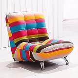 Brisk- Kreative niedliche Kinder Sofa Hocker Einweg-Sofa Lazy Sofa Stuhl Sofa Hocker (Farbe optional) (Farbe : #1)