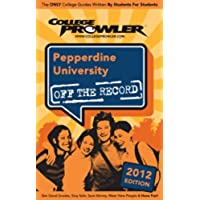 Pepperdine University 2012 (English Edition)