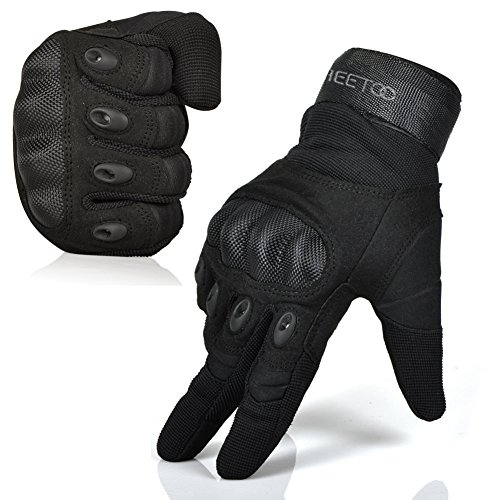 mens-outdoor-sports-gloves-tactical-gloves-full-finger-for-motorcycle-hiking-cycling-with-velcro-bla