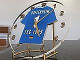 Bundesliga Fußball-Uhrim Trikot-Design –personalisierbar 1899 Hoffenheim