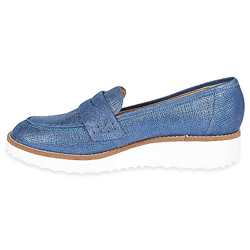 Marks & Spencer M&S Collection T027037 Leather Wedge Heel Moccasin Loafers with...