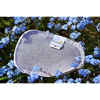 Spülschwamm aus Bio-Baumwolle, 2 Stück, Spüllappen, reinigen, umweltfreundlich, ökologisch, spülen, abwaschen, Haushalt…