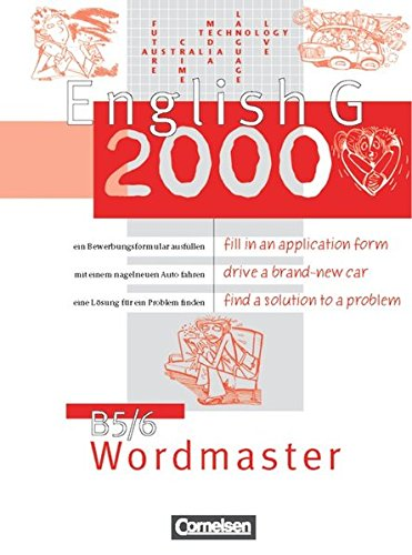 English G 2000. Ausgabe B.5/6 Wordmaster,