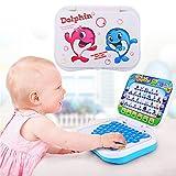 ZYCkeji Schön Baby-Lernspiel-Computer, faltbares Baby-Kind-Kleinkind-pädagogisches Studien-Spiel-Computer-Spielzeug, Das Maschine Lernt