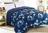 Tata Home Hilary Trapunta Invernale Fantasia Imbottita 350 gr/mq 100% Morbida Microfibra di Poliestere Misura Letto 1 Piazza e Mezza 220x260 cm Dis. 40