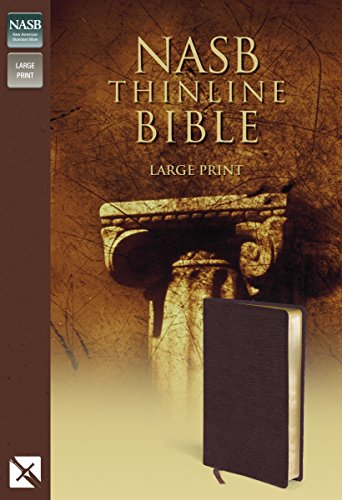 Thinline Bible-NASB-Large Print: New American Standard Bible (NASB Thinline) por Zondervan