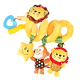 #8: Baoblae Baby Kid Plush Cartoon Toys Teether Bed Stroller Hanging Bell Rattle Musical Toy - style 3, 50cm/19.69inch