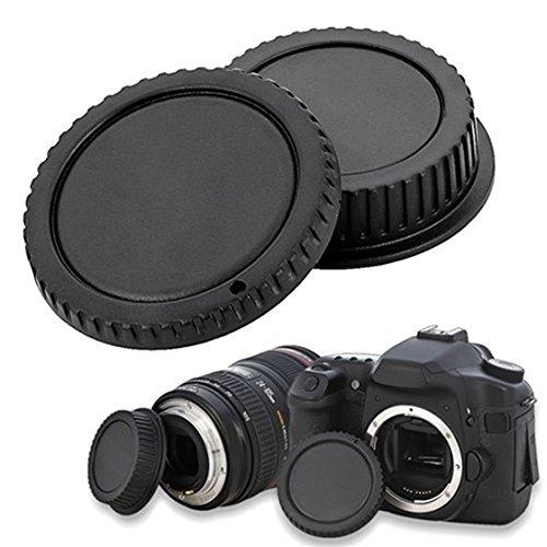 SODIALR Tapa Cuerpo Camara Tapa Objetivo Trasero Canon