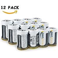 12 PCS Keenstone 3V 850mAh Cr2 Ultra batteria al litio