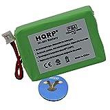 HQRP Akku für Sportdog ProHunter 2500 model SD-5400 SR200-IM Hundehalsband Empfänger mit HQRP Untersetzer