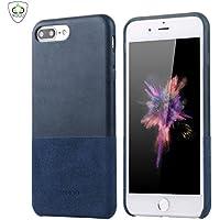 SUMGO® Apple iPhone 7 Plus Caso Vera Pelle/Wildleder Custodia Protettiva