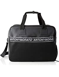 Antony Morato - Mmab00144-fa210024-9000, Bolsos de mano Hombre, Negro (Nero), 47x37x24 cm (W x H L)