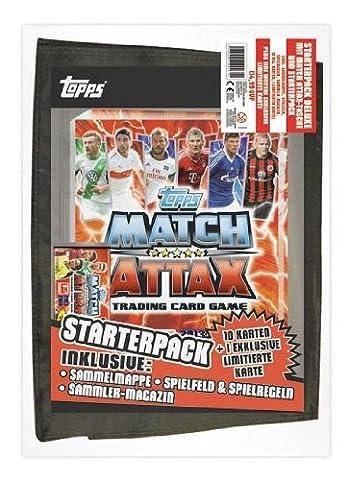 Match Attax 2013/2014 Deluxe Starter Set mit Tasche, Sammelmappe +