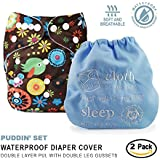 Baby Tooshy Cloth Diaper Covers With DOUBLE Gussets. Waterproof