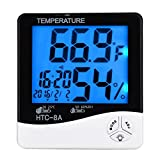 VelVeeta-Impressive-LCD-Night-Light-Indoor-Humidity-Monitor-Temperature-Sensor-Hygrometer-Thermometer-with-Date-Time-Alarm-Clock-(HTC-8A)