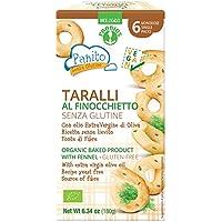 Probios Panito Taralli sin Gluten con Hinojo - Paquete de 9 x 180 gr - Total: 1620 gr