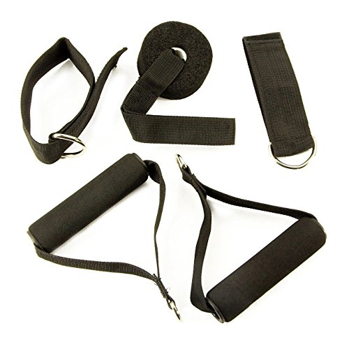 T3-Fitness-Natural-Latex-11pc-Set-of-Durable-Resistance-Exercise-Bands-5-Resistance-Bands-2x-Foam-Handles-Heavy-Duty-Door-Anchor-2x-Ankle-Straps-Ideal-For-Home-Gym-Fitness-Yoga-Pilates-Abs-P90x-Crossf