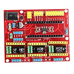 Multicolor Resin Cnc Shield V4 Expansion Board For Arduino Engraver Machine Driver 3d Printer For Improving Blood Circulation 3d Printer Parts & Accessories
