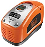 Black + Decker Akku-Kompressor, 11 bar / 160 psi, digitale Druckeinstellung, ASI300