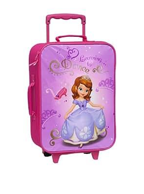 Travel Suitcase Trolley Hand Luggage Disney Princess Sofia 2 wheels suitcase 32x43X15 Girls Girls