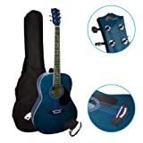 Tiger ACG2-BL Pack de Guitare acoustique - Bleu