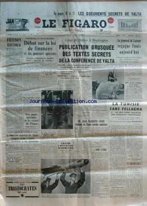 FIGARO (LE) [No 3274] du 18/03/1955 - les document...