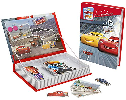 Falomir Magnet Story Disney Cars, Juego de Mesa, Infantil, Multicolor (1)