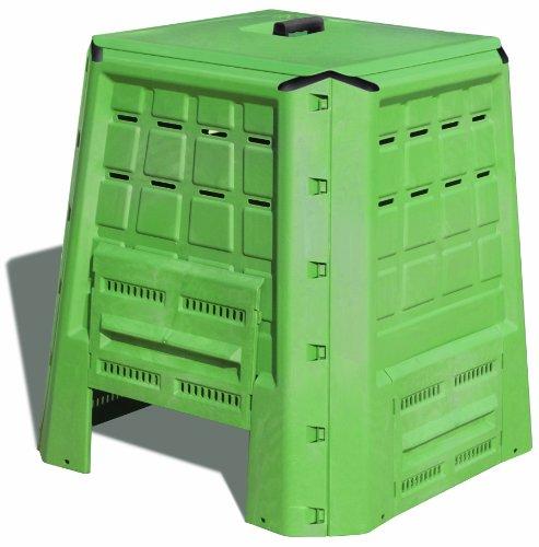 art plast bc380 bio composter in plastica, verde