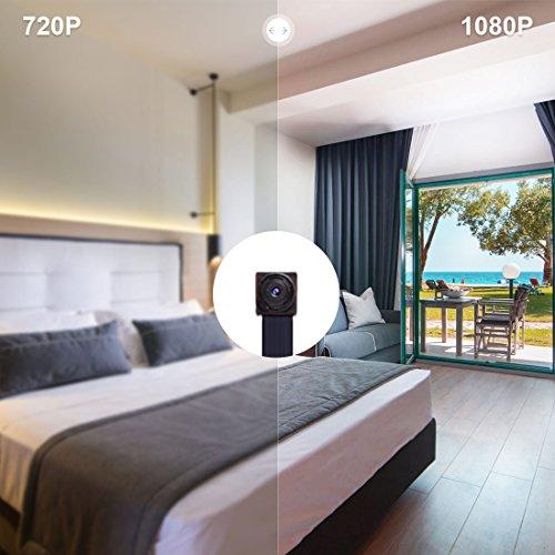 AOBO Spy Cameras 1080P HD Hidden Camera Wireless WiFi IP Mini Home ...