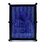 Classic 3D Art Sculpture Plastic Pin Art Board Kids Children Toy Gift, Blue