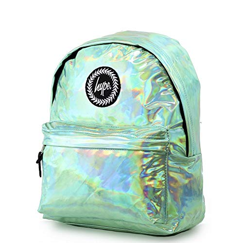 HYPE Holographic Backpack Mint Schoolbag BTS18130 Rucksack HYPE Bags