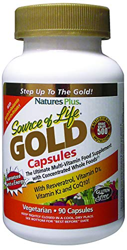 Natures Plus Source of Life GOLD , 90 Vcaps