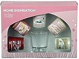 Offizielles Yankee Candle Home Inspiration Geschenk-Set inkl. 5Votivgläser & Halter