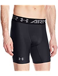 Under Armour Herren Hg Armour 2 Comp Shorts Kurze Hose, Schwarz, S