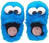 Zapatillas de estar por casa del monstruo de las galletas, color azul, color azul, talla 35-37