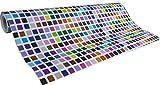Les Couleurs de l'Emballage 3306HU50M Beaumont Geschenkpapier Rolle mit Geburtstagsmotiv, 50 m x 70 cm