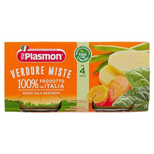 Plasmon Oasi Nella Crescita Verdure Miste Omogeneizzato dal 4 Mese 160 gr