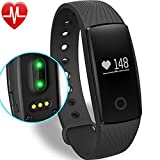 Willful Fitness Tracker Pulsera Inteligente Monitor de Pulso Cardiaco Bluetooth Pulsera Inteligente Deporte...