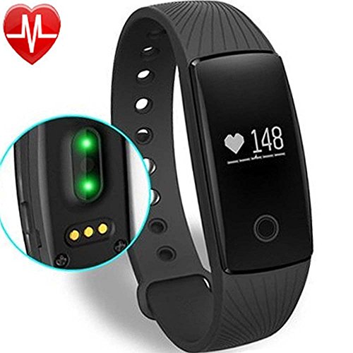 Willful Fitness Tracker Pulsera Inteligente Monitor de Pulso Cardiaco