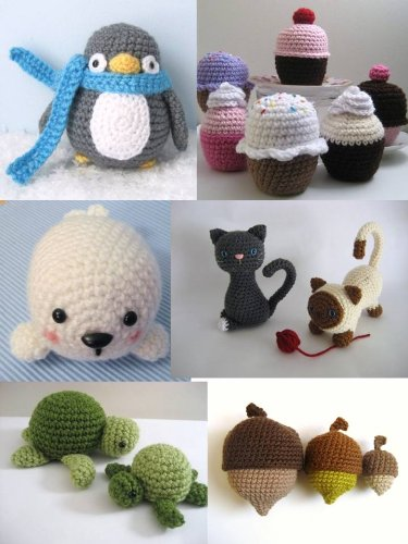 Crochet Amigurumi Pattern Collection Bundle 1 (Amy Gaines Pattern Collections)