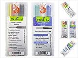 Pica DRY Ersatzminen Basis-Set Bunt Wasserlöslich Multi-Use 8 tlg. + Spezialminen Basis-Set Wasserstrahlfest 8 tlg.