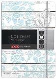 Herlitz 11415353 Notizheft my book flex Design, A5, 40 Blatt kariert Butterfly