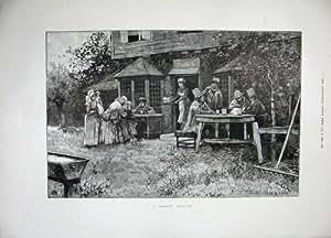 Tableau 1897 de Bière de Conseil Paroissial de Passage de Klondike Chilkoot