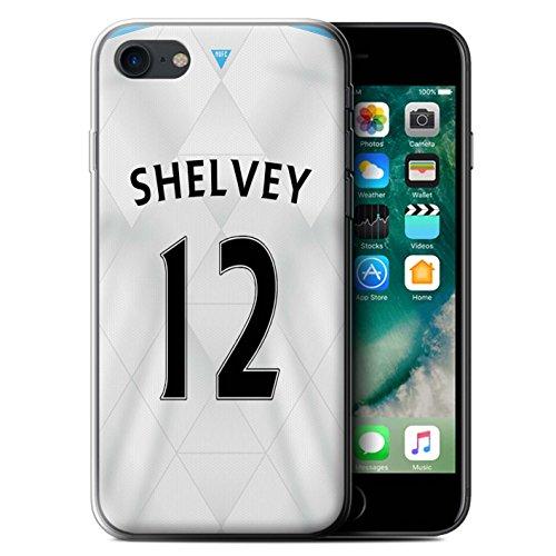 Officiel Newcastle United FC Coque / Etui Gel TPU pour Apple iPhone 7 / Mitrovic Design / NUFC Maillot Extérieur 15/16 Collection Shelvey